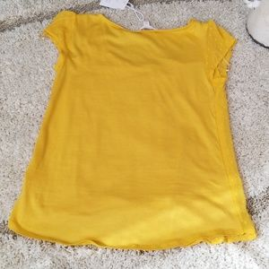 LC Lauren Conrad Tops - Laurel conrad blouse shirt  Extra small mustard
